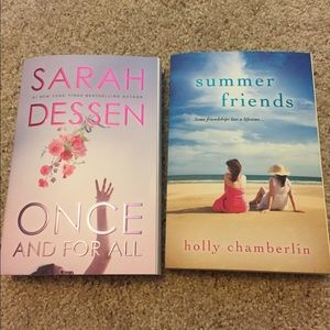 Books: Once and For All & Summer Friends